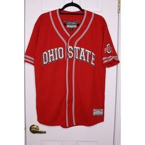 OHIO STATE Baseball Jersey Buckeyes Steve & Barry